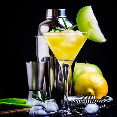 shrub-martini